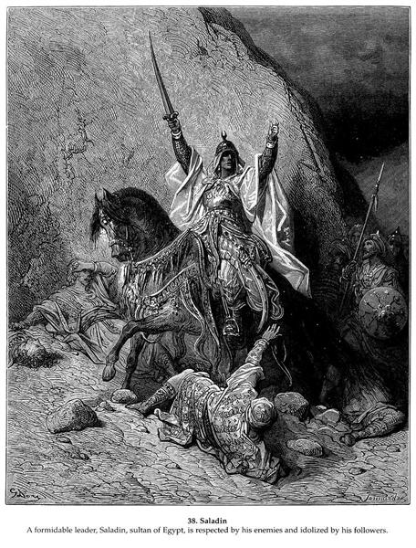 Saladin - Dore Gustave