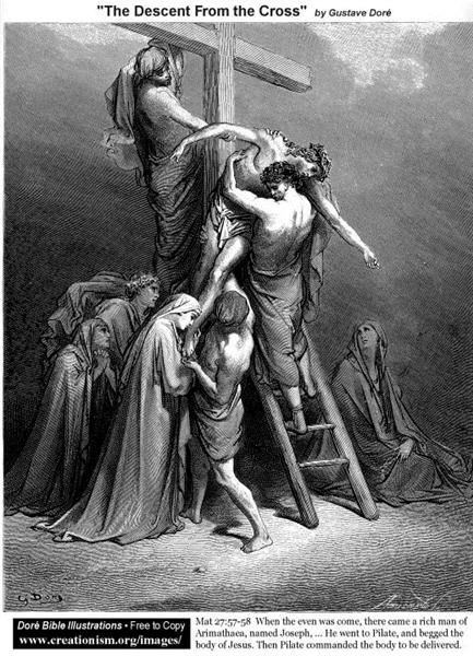 The Descent From TheCross - Gustave Dore
