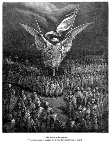 The Road to Jerusalem - Gustave Dore