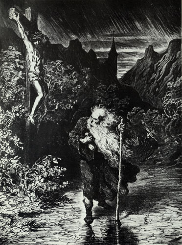 The Wandering Jew - Gustave Dore