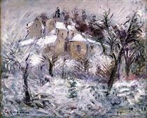 Houses at Pontoise - Gustave Loiseau