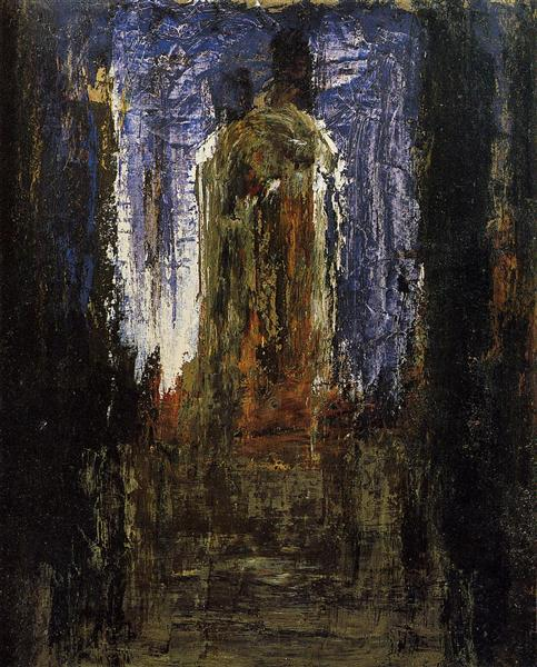 Abstract (study), c.1890 - Gustave Moreau