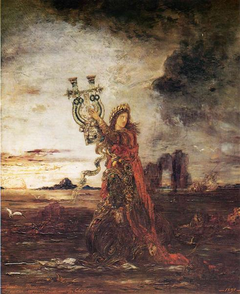 Arion, 1891 - Gustave Moreau