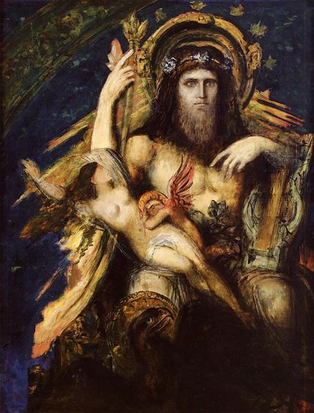 Jupiter and Semele, 1889 - 1895 - Gustave Moreau
