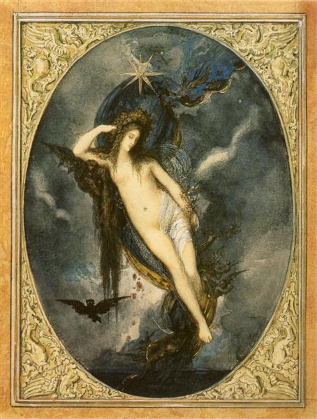 Night, c.1880 - Gustave Moreau