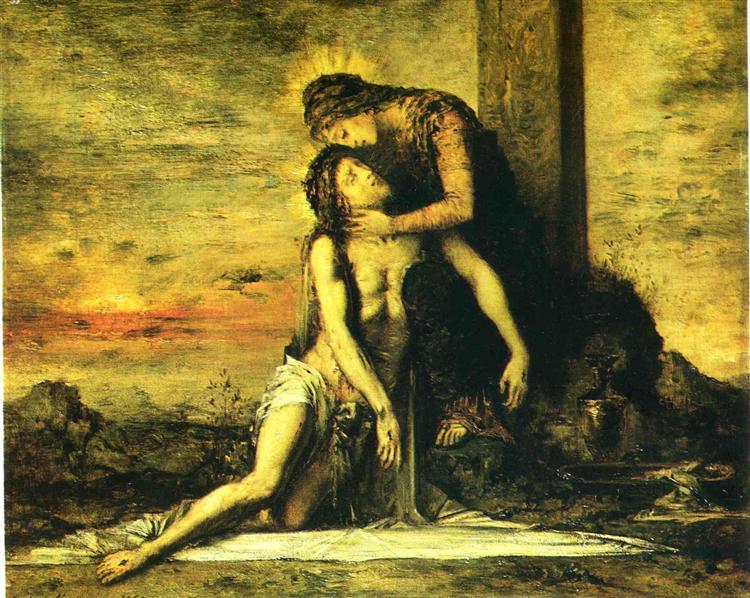 Pieta, 1867 - Gustave Moreau