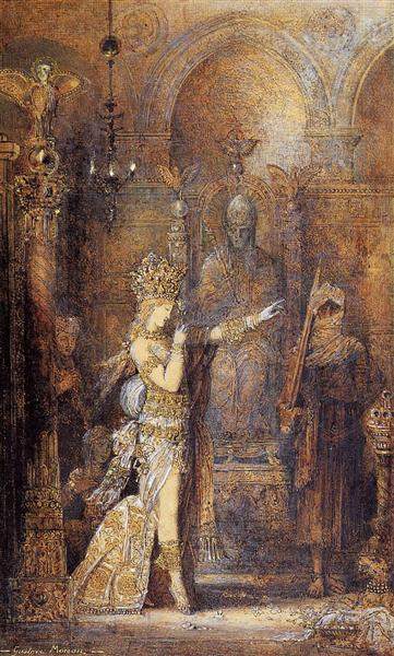 Salome Dancing, c.1886 - Gustave Moreau