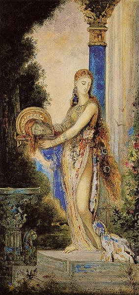 Salome with Column, c.1885 - 1890 - Gustave Moreau
