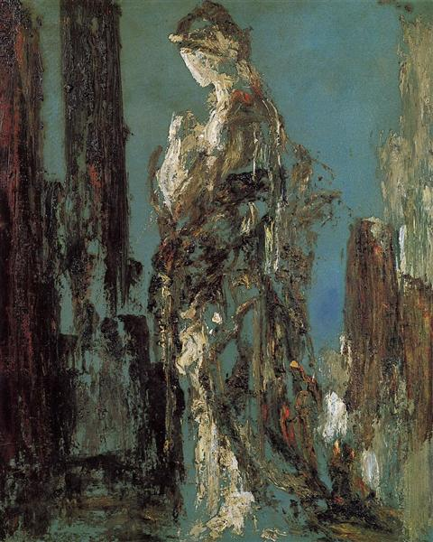 Study of Helen, c.1890 - Gustave Moreau