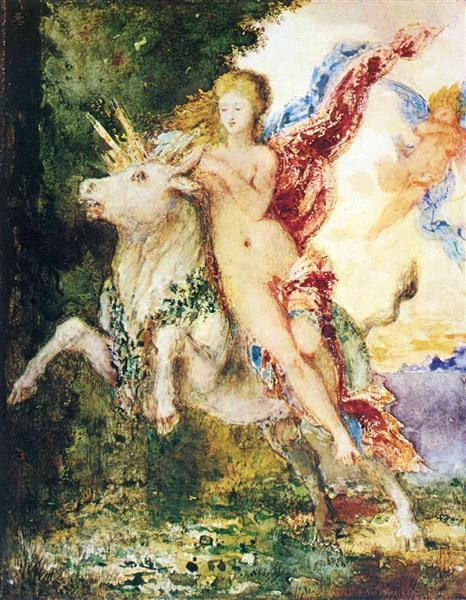 The Abduction of Europa, c.1869 - Gustave Moreau