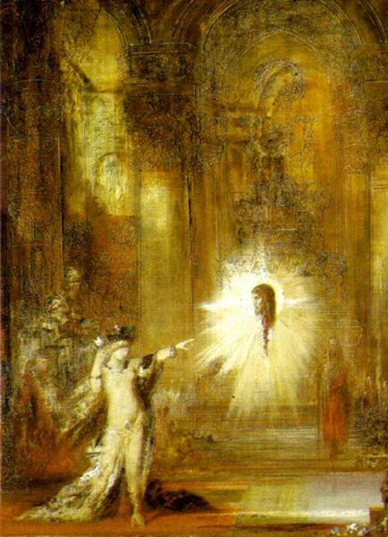 The Apparition, 1876 - Gustave Moreau