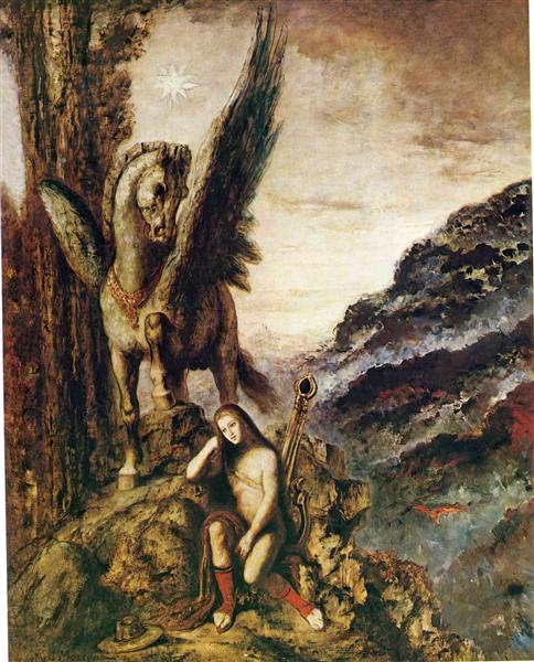 The Young Poet - Gustave Moreau