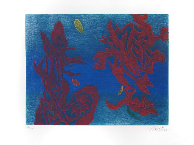 Aquatheme, 1973 - Gustave Singier