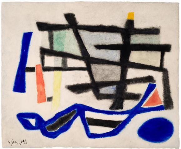 Estacade baigneuse, 1956 - Gustave Singier