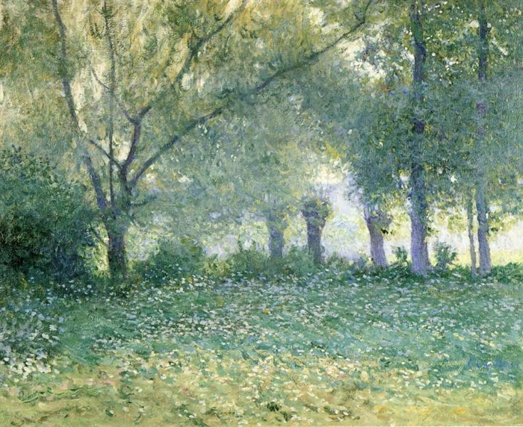 Morning Mist (also known as Late Spring) - Guy Rose