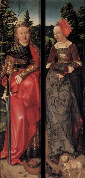 Three Kings Altarpiece (closed), 1507 - Hans Baldung