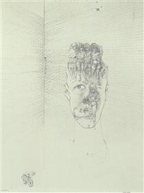The Blue Eye - Hans Bellmer