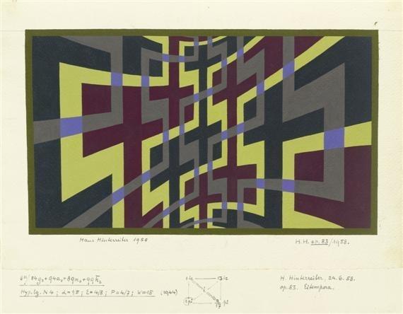 Opus 83, 1958 - Hans Hinterreiter