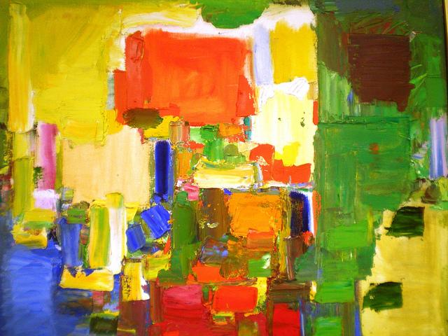 August Light, 1957 - Hans Hofmann