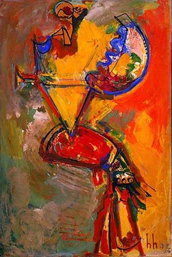 Idolatress I, 1963 - Hans Hofmann