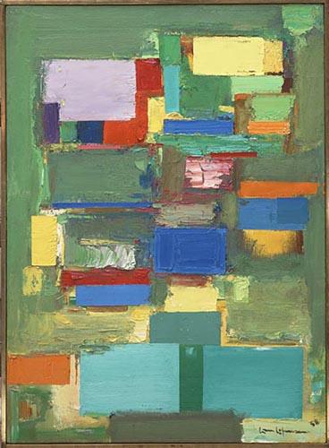 Morning Mist, 1958 - Hans Hofmann