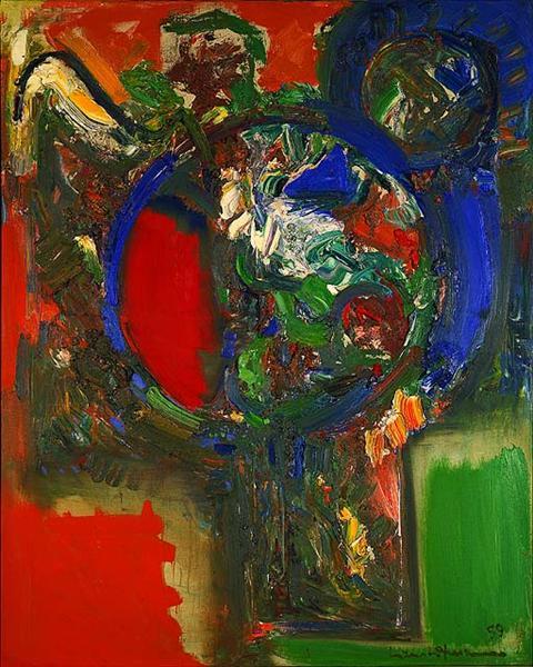 The Bouquet, 1959 - Hans Hofmann