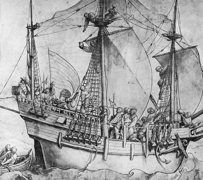 Outgoing ship, 1532 - 1533 - Hans Holbein el Joven