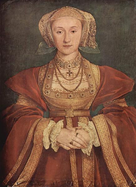 Portrait of Anne of Cleves, 1539 - Hans Holbein the Younger