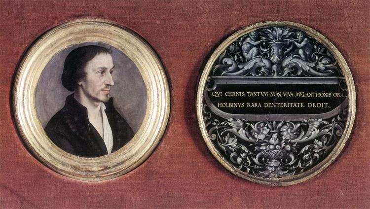 Portrait of Philipp Melanchthon, c.1535 - Hans Holbein, o Jovem