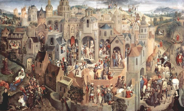 Scènes de la Passion du Christ, 1470 - 1471 - Hans Memling
