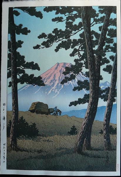 Evening at Tagonoura, 1940 - Hasui Kawase