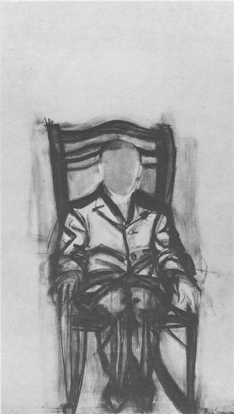 Portrait of Frederick Kiesler, 1954 - Hedda Sterne