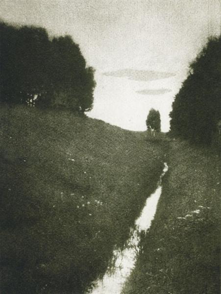 Crépuscule, 1897 - Heinrich Kuhn