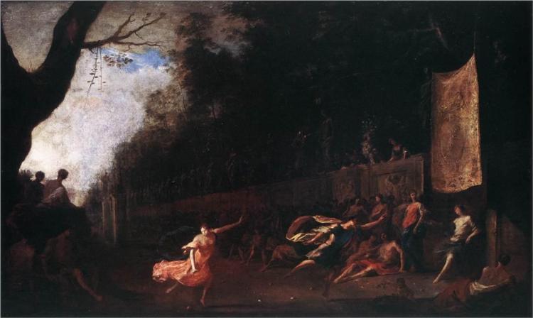 Atalanta and Hippomenes, 1660 - Heinrich Schonfeld