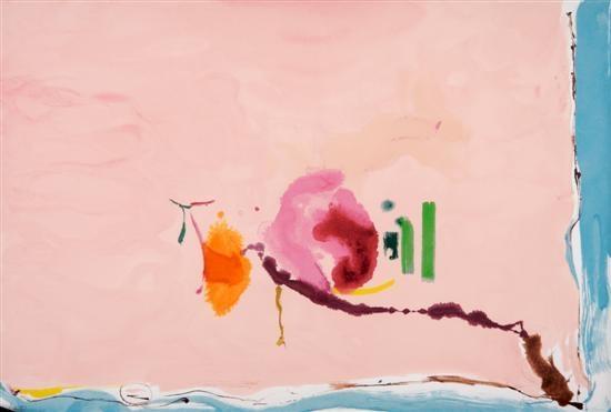 Flirt, 1995 - Helen Frankenthaler