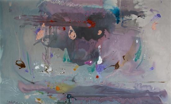 Grey Fireworks, 2000 - Helen Frankenthaler