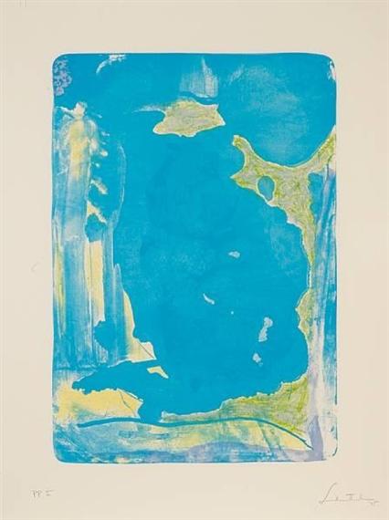 Reflections IV, 1995 - Helen Frankenthaler