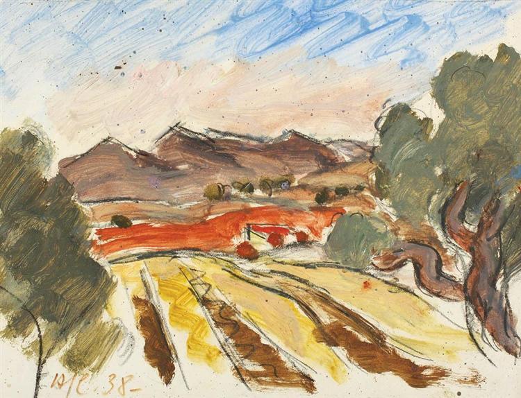 Provensal Landscape, 1938 - Henri Catargi