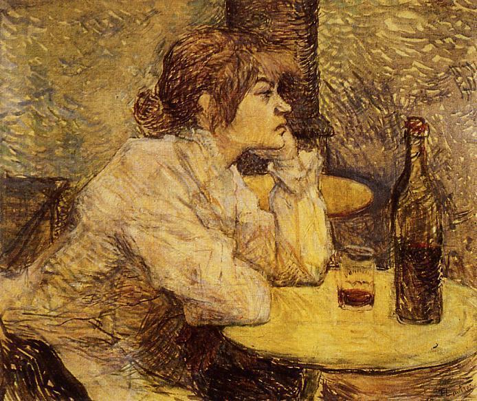 Hangover, 1889 - Henri de Toulouse-Lautrec