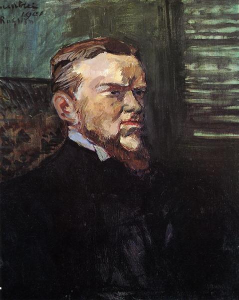 Portrait of Octave Raquin, 1901 - Henri de Toulouse-Lautrec