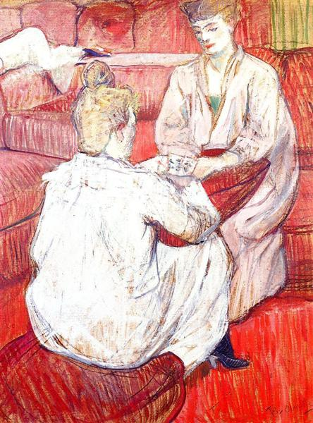 The Card Players, 1893 - Henri de Toulouse-Lautrec