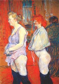 The Medical Inspection - Henri de Toulouse-Lautrec