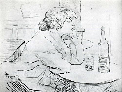 The Morning After - Henri de Toulouse-Lautrec
