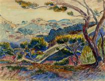 Landscape - Henri-Edmond Cross