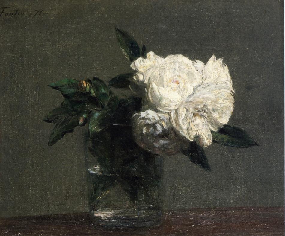 Resultado de imagen de Manet rosas