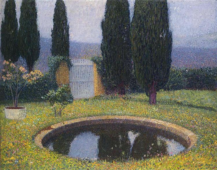 Fountain in Labastide du Vert, 1923 - Henri Martin