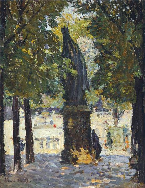Garden of Luxembourg, 1931 - Henri Martin