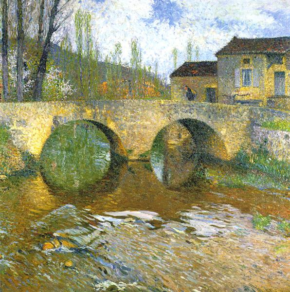 The Green Bridge - Henri Martin