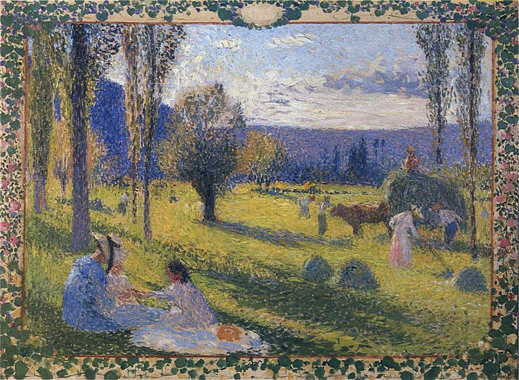 The Harvest - Henri Martin