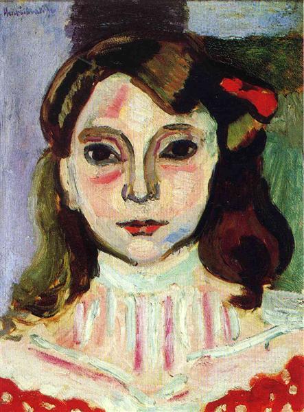 Marguerite, 1906 - Henri Matisse